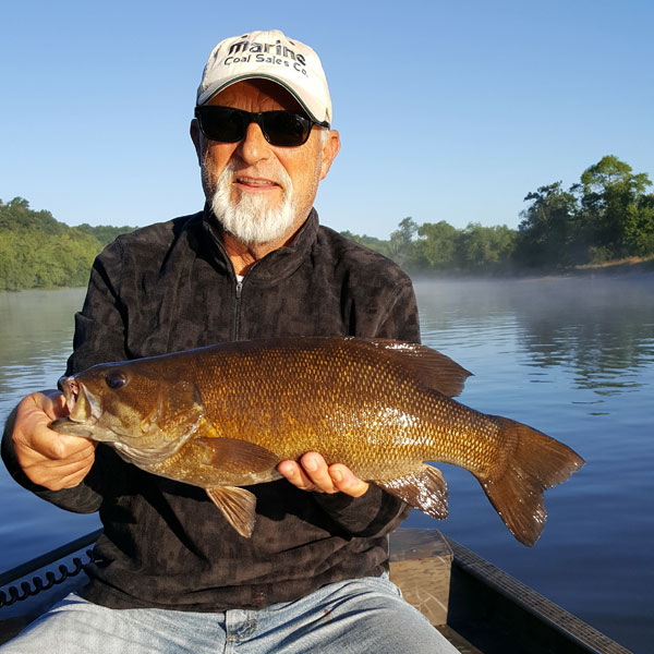 Wisconsin River Fishing Example